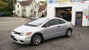 2007 Honda Civic 5 Speed 2 door 149,000km Safety/E-tested!