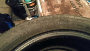 Winter tires 215 50 17