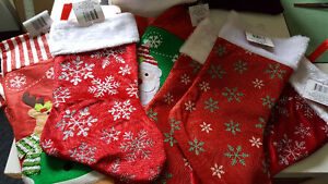 Machine embroidery December special stockings with name