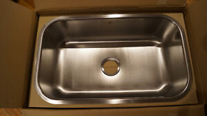 Lavabo Stainless 30 pouces undermount