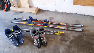 Downhill ski package