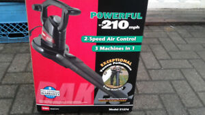 Toro UltraPlus 250 MPH Leaf Blower and Vacuum