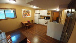 For Rent – 1 Bedroom Basement Suite – Canmore (Three Sisters)