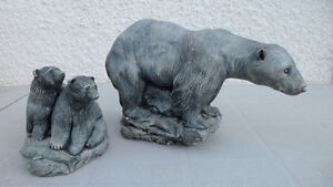 Polar Bear Carvings Large and Small $100 pair. Prince George British Columbia image 10