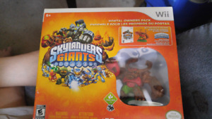 Skylander giants game played once.