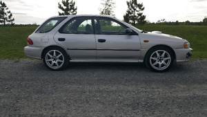Subaru impreza h6 ez30r wrx sti