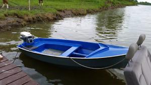 Petit bateau voilié 10 pied  tres propre 500$