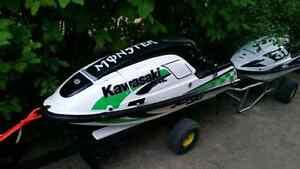 2000 750 Kawasaki sxi pro stand up jet ski