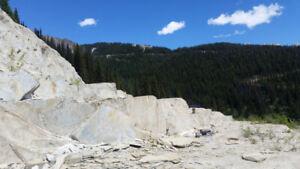 Rock Quarry near Golden.
