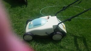 Like New Neuton Cordless Electric Mower London Ontario image 1