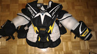 Plaston / Chest and arm protector - Bauer Pro - Large - PRO
