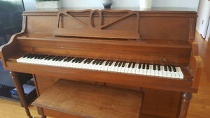 Upright Piano, Henry Herbert by Mason & Risch 1960s (Vancouver)