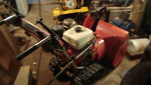 honda hs80 track snowblower. works excellent