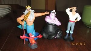 Disney Collectable Set From  THE LITTLE MERMAID