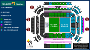 SWAP ONLY - ED SHEERAN BRISBANE TICKETS X 4 WEDNESDAY NIGHT SHOW Robina Gold Coast South Preview