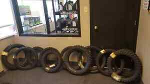 ASSORTED MOTOCROSS TIRES