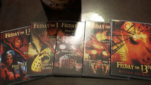 Friday the 13th dvd collection pack West Island Greater Montréal image 3