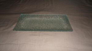 Assiette vitrée courbée / Curved glass plate