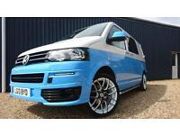 VOLKSWAGEN T5 TRANSPORTER 2013 2.0TDI 160PS SURF BUS DAY VAN KOMBI