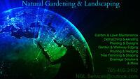 NATURAL GARDENING & LANDSCAPING
