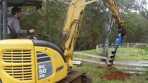Auger & AUGER DRIVE packages for Komatsu minis - 1300 43 44 33 Northmead Parramatta Area Preview