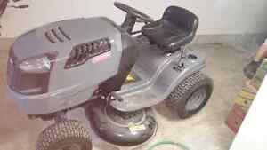 Craftsman 17.5 HP lawn tractor with trailer and lawn roller