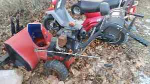 8hp snow blower reason for selling I bought a new one