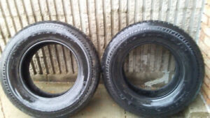 pair of 17 inches tire for sale
