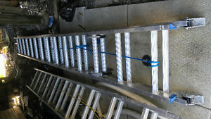 alum ladders 28 and 18