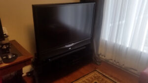 JVC Projection TV with Stand