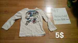 Vêtements garçon 4T chemise chandail pantalon manteau West Island Greater Montréal image 2