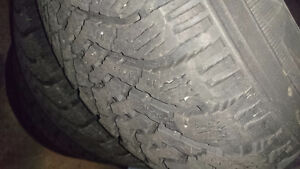 Winter Tires only used a few rides. West Island Greater Montréal image 3