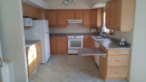 Oak Kitchen Cabinets in very good condition
