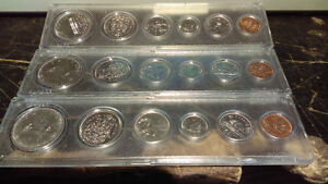 Royal Canadian Mint Uncirculated Sets 1969 and 1973