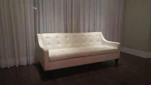 Sofa en cuir/leather couch