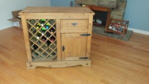 BAR UNIT WITH STOOLS