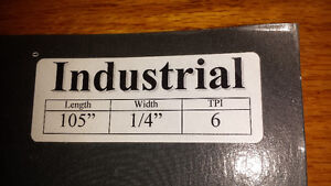 """Tuff Tooth Silicon Band Saw Blade 105"""" long x ¼"""" wide, 6 TPI Cambridge Kitchener Area image 3"""