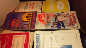 1950's THEATRE PROGRAMMES