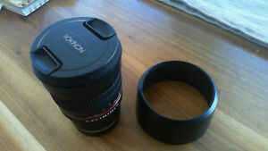 Rokinon 85MM F1.4 for Sony FE Like New Condition