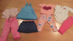 Size 12 Month Girl Lot