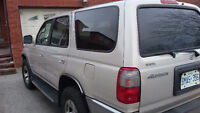 2000 Toyota 4Runner tan SUV, Crossover many new parts.