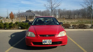 1998 Honda Civic HX Coupe (2 door) Kitchener / Waterloo Kitchener Area image 2