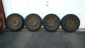 Steel rims and winter tires  175/65 R14
