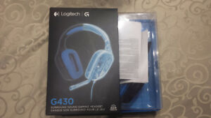 Logitech G430 Gaming Headset / Casque Gaming Ps4 / Xbox one / Pc