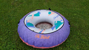 SKI BISCUIT water donut Great condition also life jackets