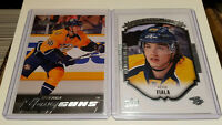 2015-16 Upper Deck Series 1 Kevin Fiala Young Guns and Rookie Po