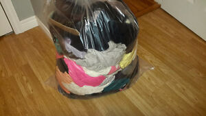 Garbage bag of women's clothes - Size large-XL