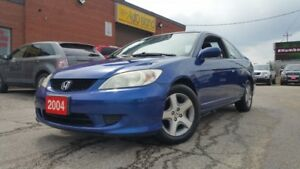 2004 Honda Civic SI COUPE SUNROOF AUTOMATIC 170KM'S ONLY $4480!!