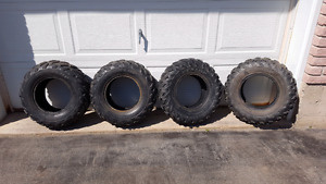 4 Used ATV Dunlop Tires