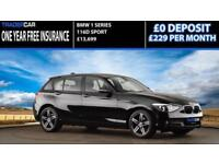2015 64 BMW 1 SERIES 2.0 116D SPORT 5D 114 BHP DIESEL